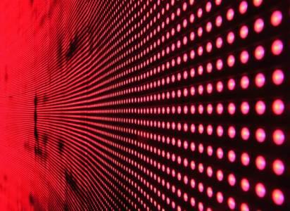 LEDowa ściana