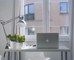 Ergonomiczna lampka na biurko