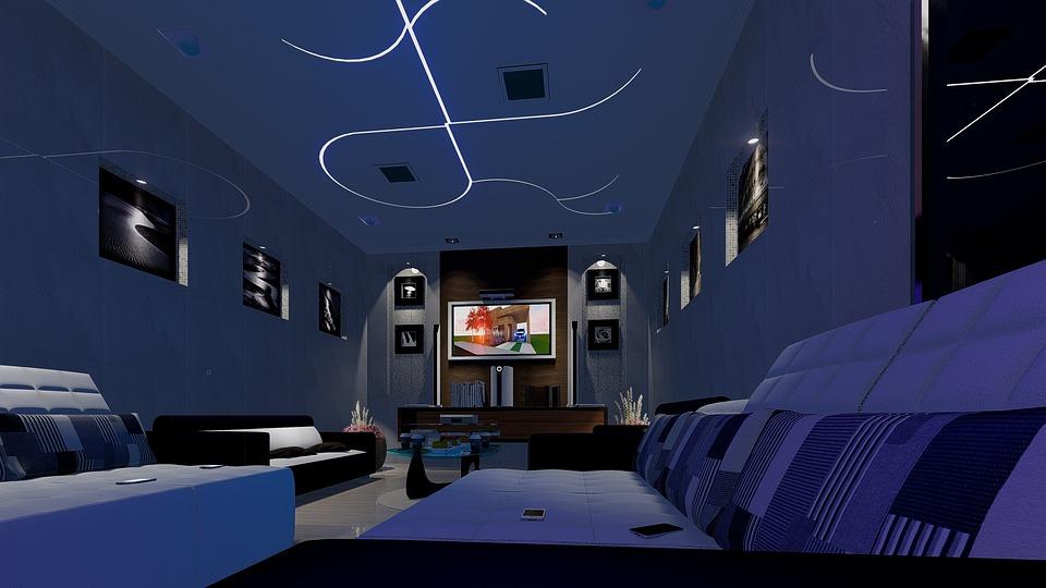 Najciekawsze pomysły na oświetlenie LED w salonie