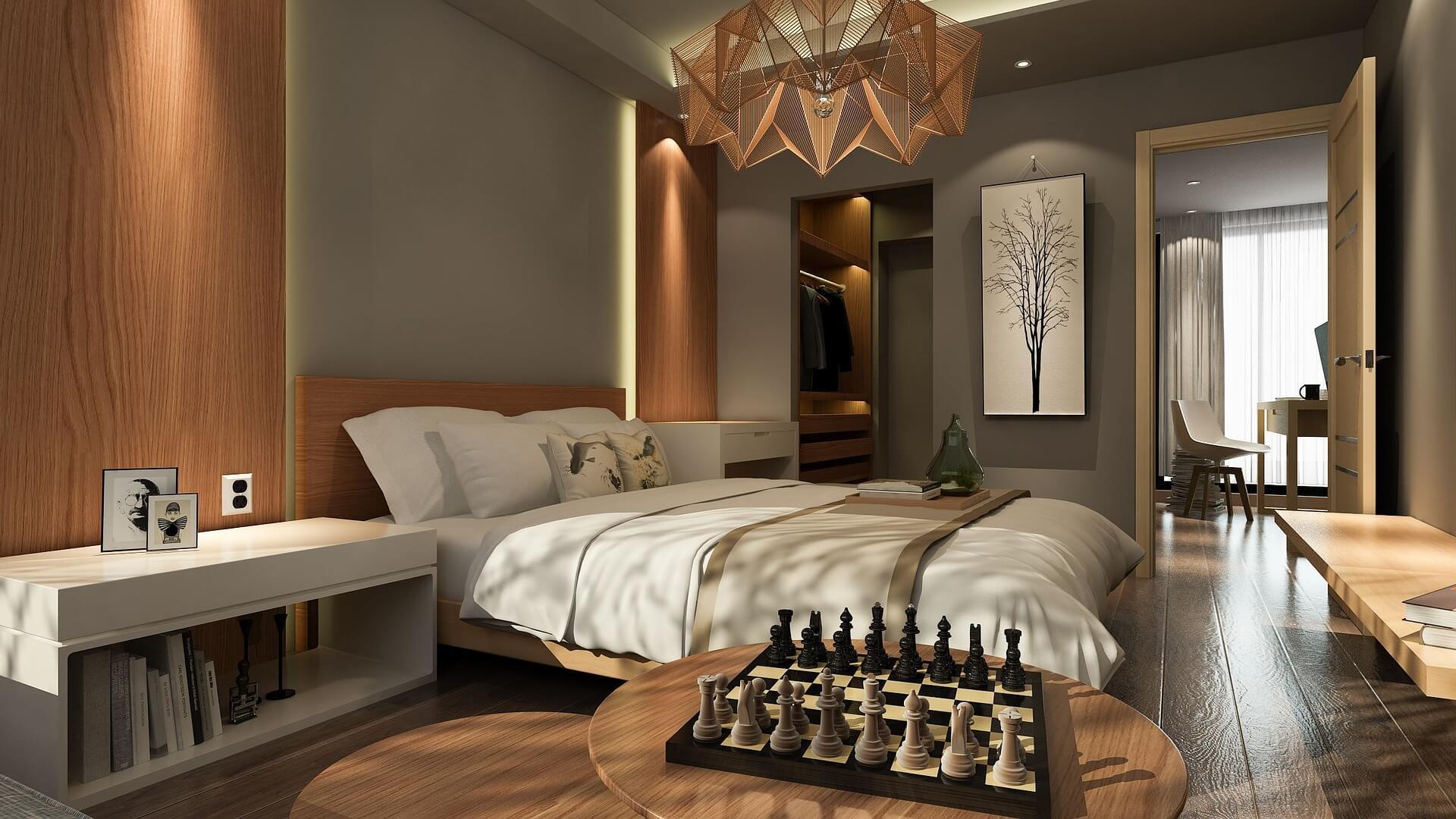 Wykorzystanie lampek LED w sypialni